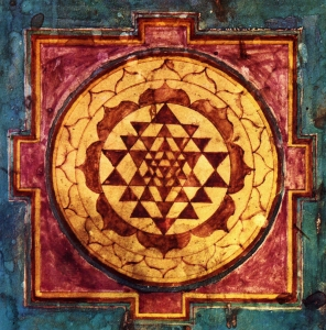 Sri Yantra. Shiva and Shakti in equilibrium.